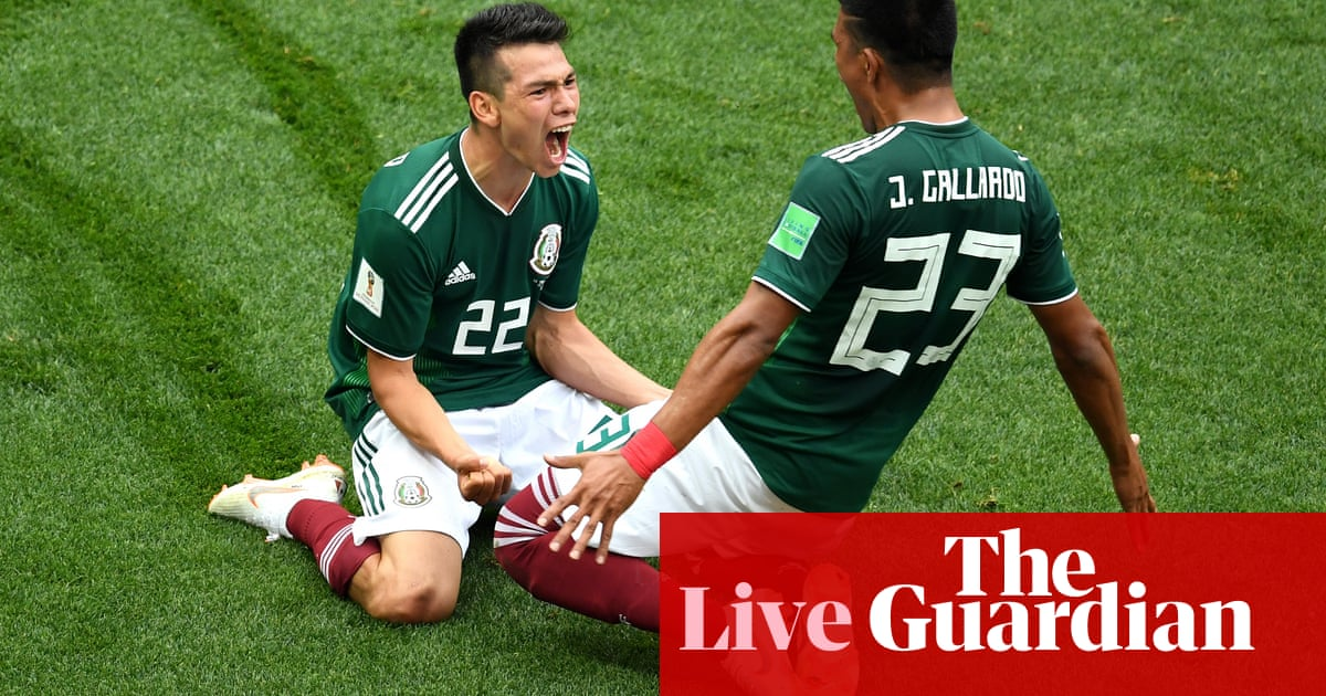 3a4154292 Germany 0-1 Mexico  World Cup 2018 – as it happened