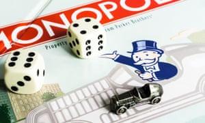 Rich Uncle Pennybags, Mononpoly's familiar mascot.
