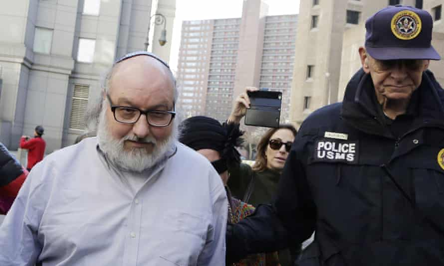 Convicted spy Jonathan Pollard leaves a federal courthouse in New York in November 2015.