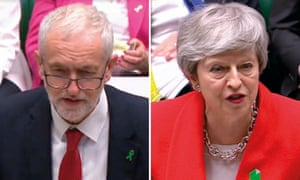 Jeremy Corbyn and Theresa May: 'Talking in vague metaphors.'