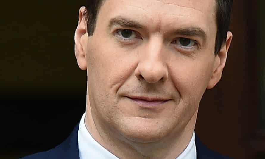 George Osborne close-up