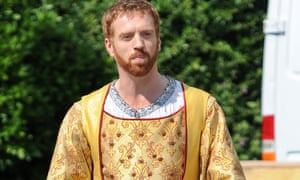 Damian Lewis plays Henry VIII in BBC TV's Wolf Hall.