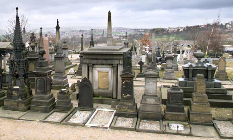 Undercliffe cemetery in Bradford