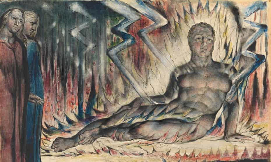 Blake's Capaneus the Blasphemer