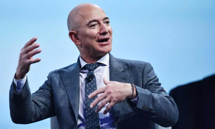 Jeff Bezos' net worth of $144bn puts him on track to become the world's first trillionaire by 2026.