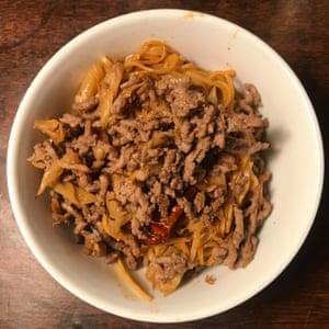 Fuchsia Dunlop's dan dan noodles.