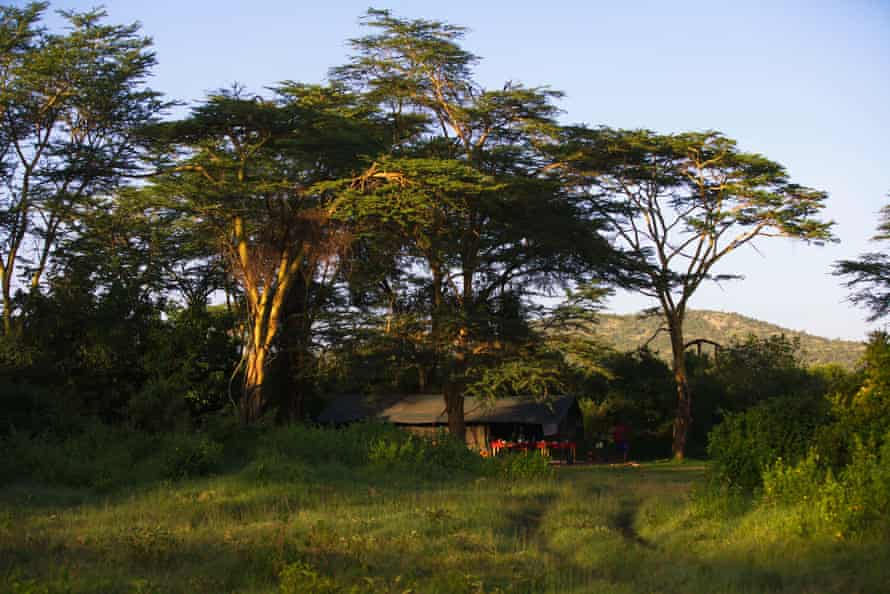 Conservancy camp at Ol Kinyei