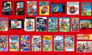 Catch them all ... Super Mario Bros 35th anniversary.