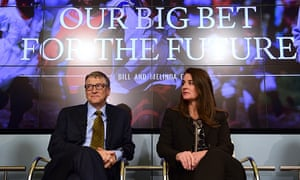 Bill and Melinda Gates, founders of the Bill and Melinda Gates Foundation