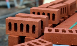 Bricks on a building site