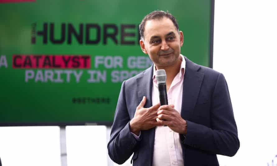 The Hundred's managing director, Sanjay Patel.