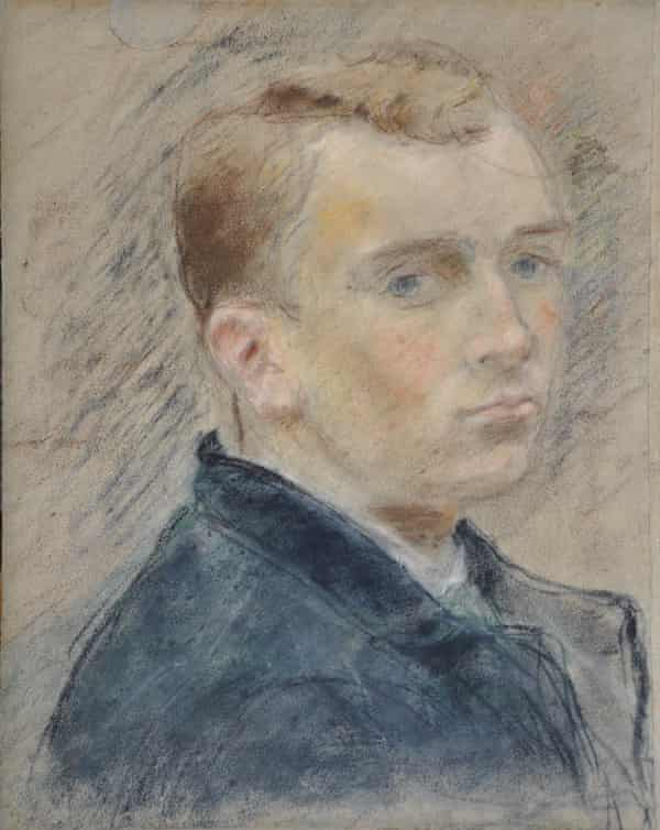 A sketch of Paul Claudel aged 20, by Camille Claudel.