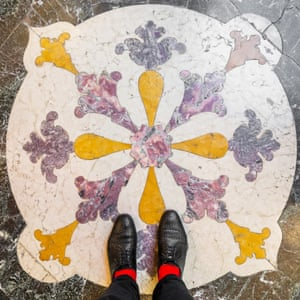 Palazzo Grassi Venetian floor photographed by Sebastian Erras