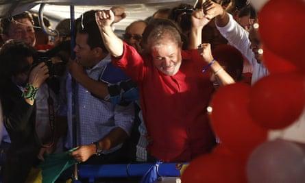 Brazil's former President Luiz Inacio Lula da Silva