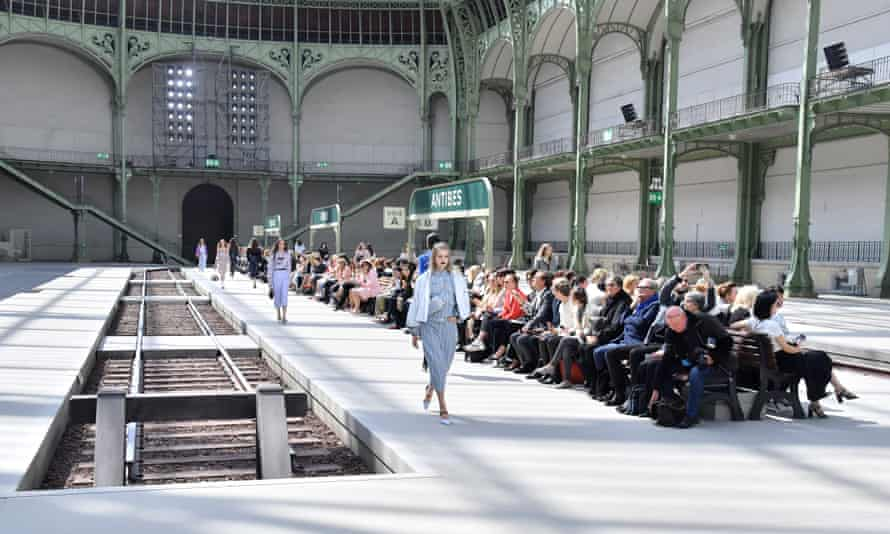The Grand Palais was remodelled as a Belle Époque railway station.