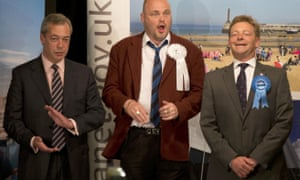 Al Murray reacts to the news that Nigel Farage has lost