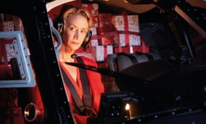 Jane McTeer as Mrs Claus in the M&S Christmas ad.