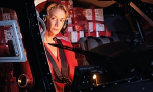 Jane McTeer as 'Mrs Claus' in the M&S Christmas ad