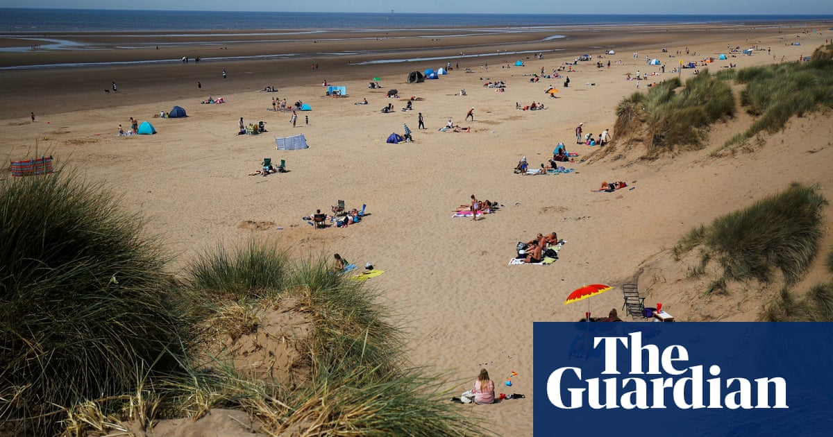 Three men airlifted to hospital after stabbings at Formby beach
