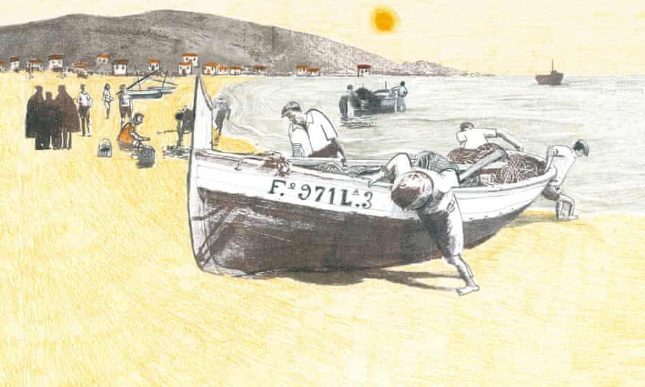 Illustration from Ana Penyas's Todo Bajo el Sol