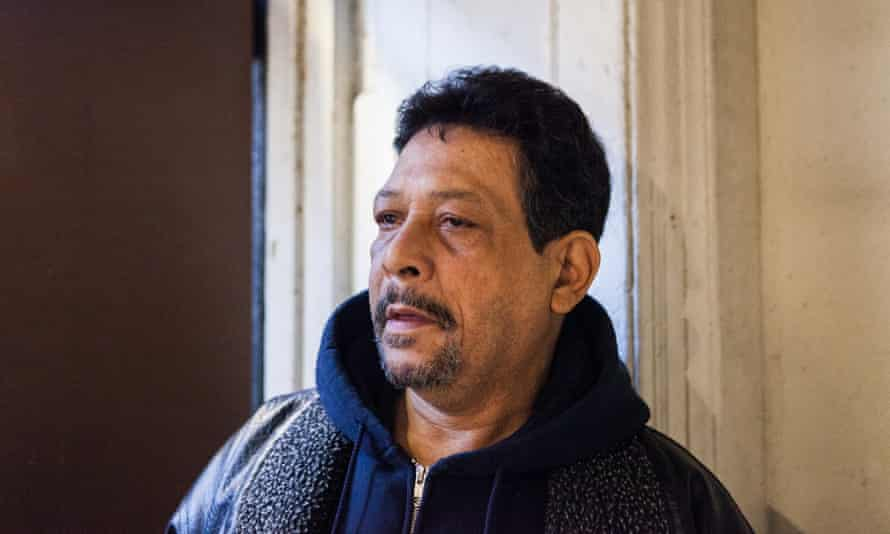 Alberto Betancourt, 61, poses for a portrait at the West Side Campaign Against Hunger on Monday morning. CREDIT: Alex Welsh for The Guardian
