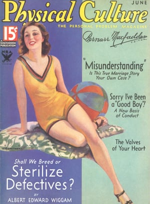 The cover of Physical Culture magazine from June 1934.