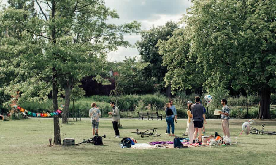'Parks are fab places to be, they are valuable to communities.': Clissold Park in Stoke Newington, north London.