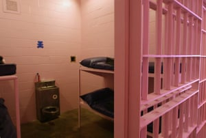 A Dallas County Jail cell in 2006.