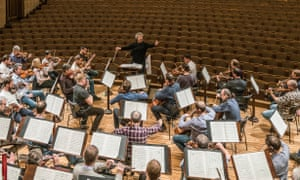 Strengths and weaknesses … Semyon Bychkov and the Czech Philharmonic Orchestra.
