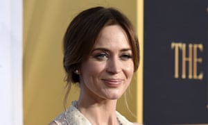 Emily Blunt: set to administer a spoonful of sugar.
