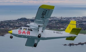 Airplane used by Guernsey air rescue