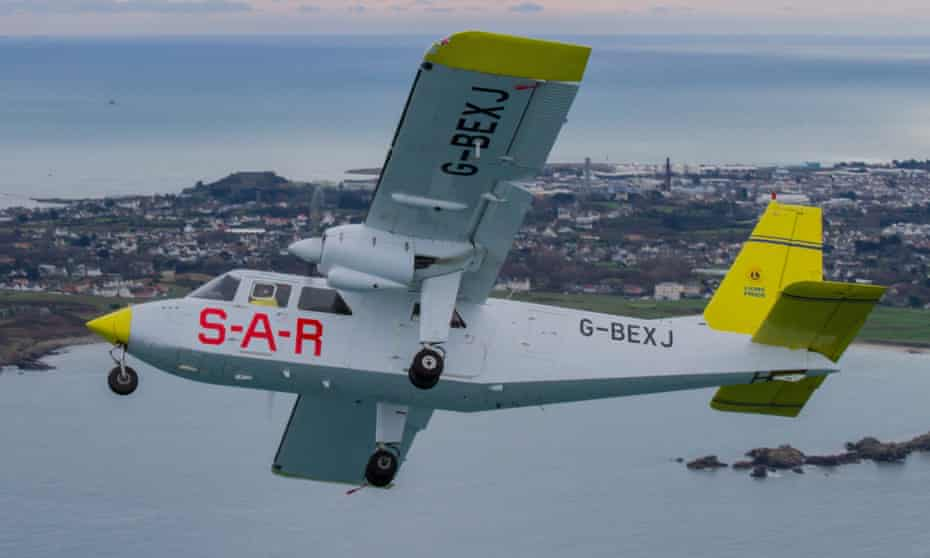 Channel Islands Airsearch plane