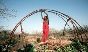 Somalian nomadic hut