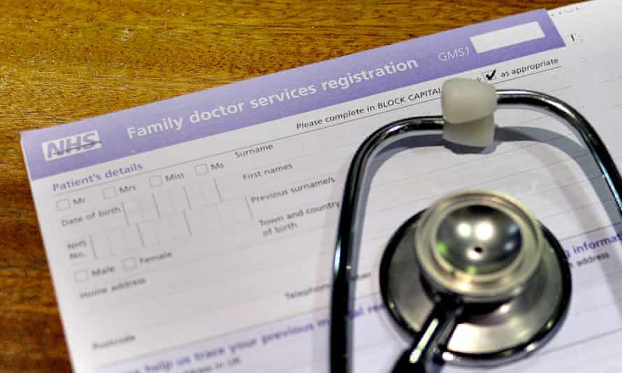 a doctor's prescription pad and a stethoscope
