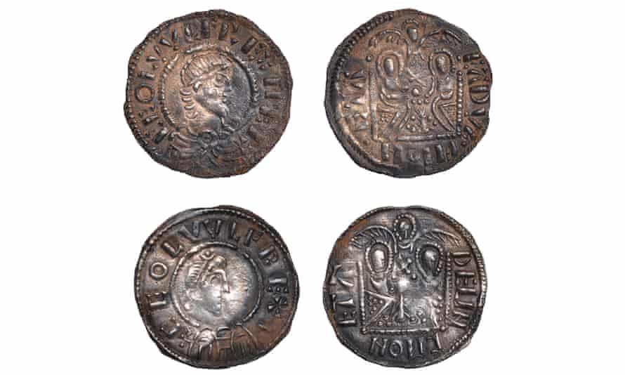 Emperor coins valued at £100,000