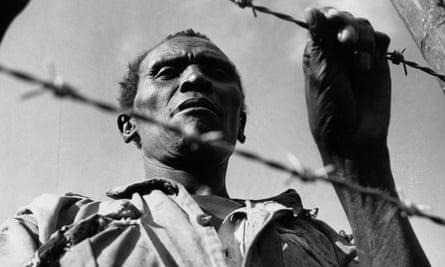 A Mau Mau prisoner in 1952