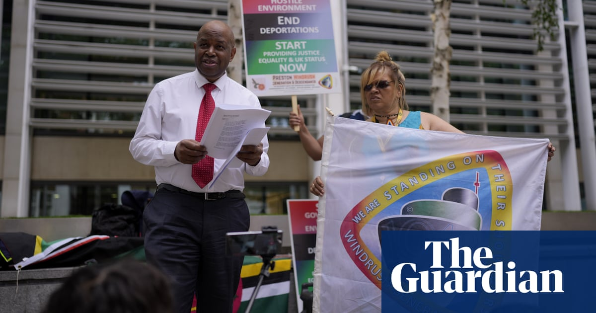 Windrush activists 'disgusted' after being turned away at Tory conference