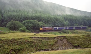 The Caledonian Sleeper from London to Fort William.