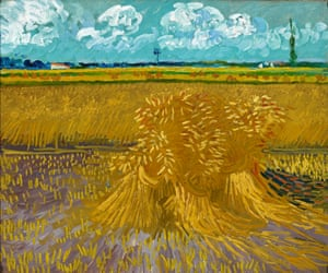Wheatfield (1888) by Vincent van Gogh