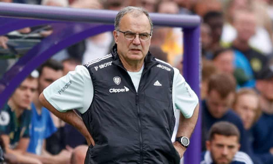 Marcelo Bielsa said of his squad: 'I'm satisfied with the group I'm working with.'