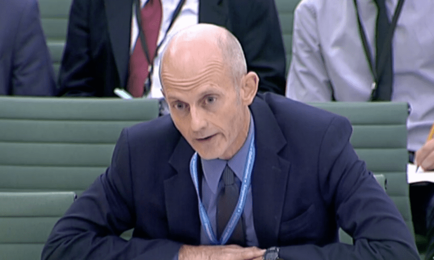 Philip Rycroft said his civil servants were getting ready for Brexit, 'whatever that is…'
