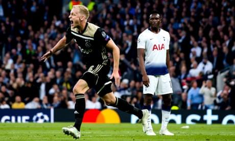 Donny van de Beek presses pause before delivering telling blow for Ajax