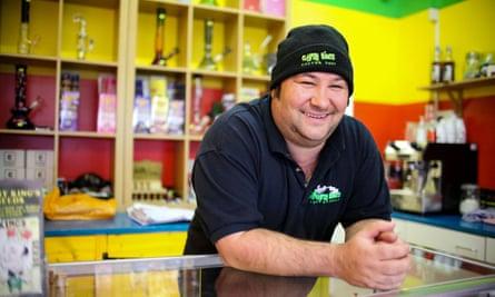 Owner of Gypsy Kings Head Shop