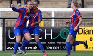 Crystal Palace Ladies players