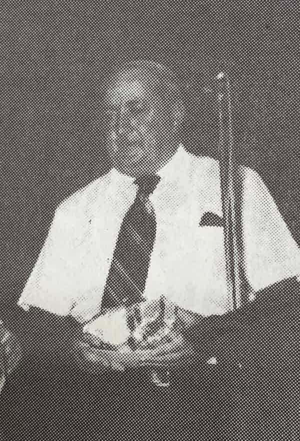 Cletus O'Connor worked as a teacher, principal and schools inspector in NSW from the 1950s to the 1980s.