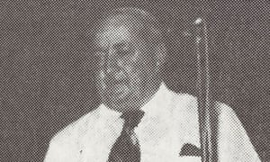 Cletus O'Connor. He worked as a teacher, principal and schools inspector in the nsw dept of ed from the 1950s to the 1980s.