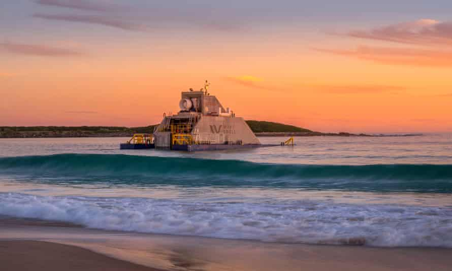 Wave energy technology that creates power by mimicking a blowhole is being tested at King Island off Tasmania. Australian's southern coast has great potential to generate energy from waves due to its large swell fuelled by strong winds.