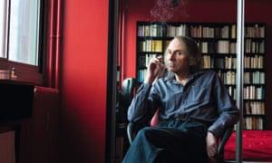 'Europe's premier literary misanthrope' ... French author Michel Houellebecq.