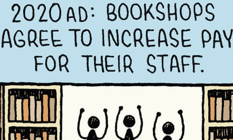Tom Gauld on booksellers of the future – cartoon