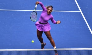 Serena Williams came back from 5-1 down in the second set before losing it 7-5, and the US Open final, to Bianca Andreescu.